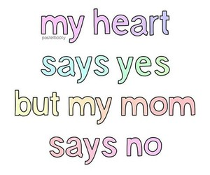 transparent and love my mom image