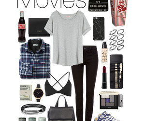 outfit, people, and Polyvore image