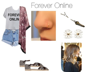 boho, outfit, and tumblr image