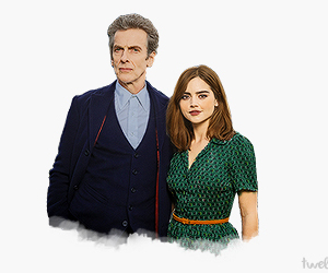clara, doctor who, and time lord image
