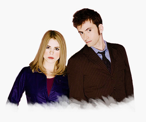 billie piper, davi, and doctor who image