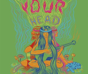 hippie, head, and hippies image