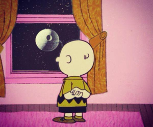 charlie brown, gif, and snow image