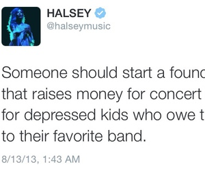 halsey, quote, and ashley image
