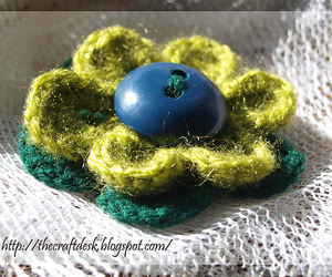 brooch, craft, and the craft desk image