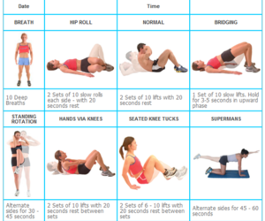 exercise, healthy, and health image