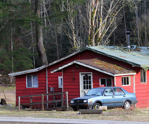 jacob black, red house, and twilight image