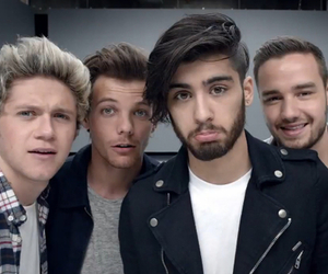 one direction, zayn malik, and liam payne image