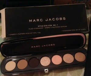 makeup, marc jacobs, and eyeshadow image