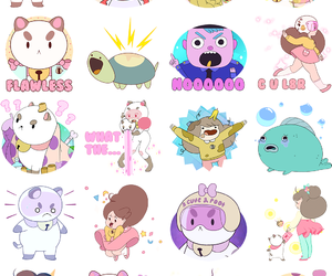 cartoon, stickers, and cartoon hangover image
