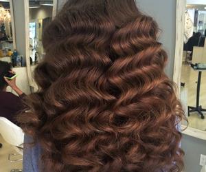 long hair and waves image