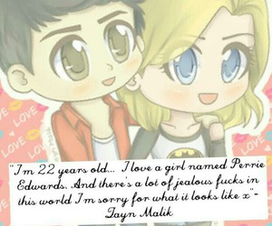 little mix, zerrie, and love image