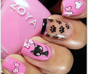 nail art, nail design, and nails image