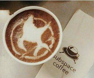 coffee, the hunger games, and hunger games image