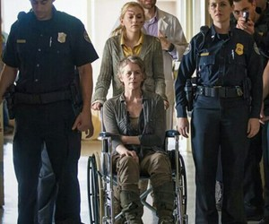 carol, beth, and the walking dead image