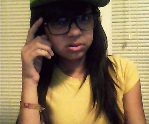 fitted, nerd, and swagg image
