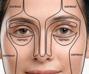 beauty, makeup, and contouring image