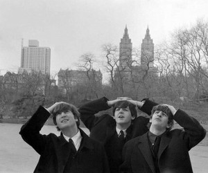 the beatles, america, and Central Park image