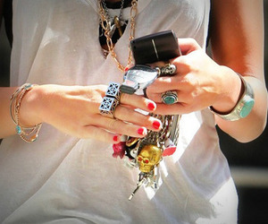 miley cyrus, accessories, and bracelet image