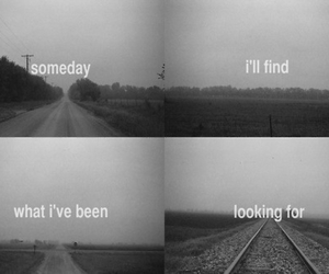 someday, quote, and black and white image