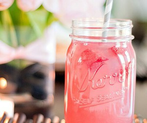 drink, pink, and summer image