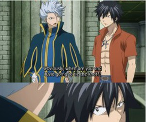 fairy tail, gray fullbuster, and juvia image