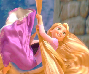 tangled, disney, and cute image