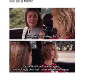funny, annie, and best friends image