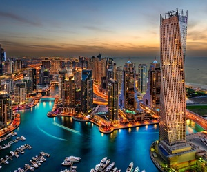 city, Dubai, and live image