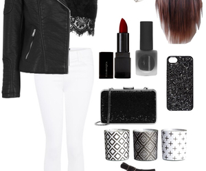 outfit, party, and Polyvore image