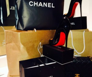 shoes, chanel, and hipster image