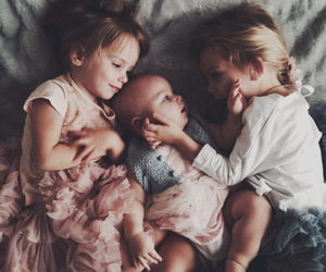 baby and little girls image