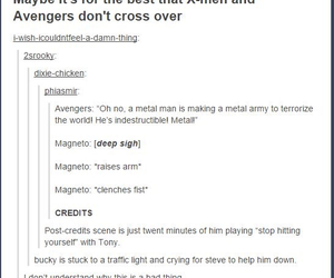 Avengers, funny, and tumblr image