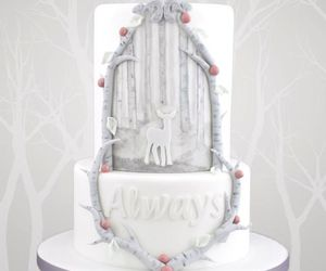 harry potter, always, and cake image