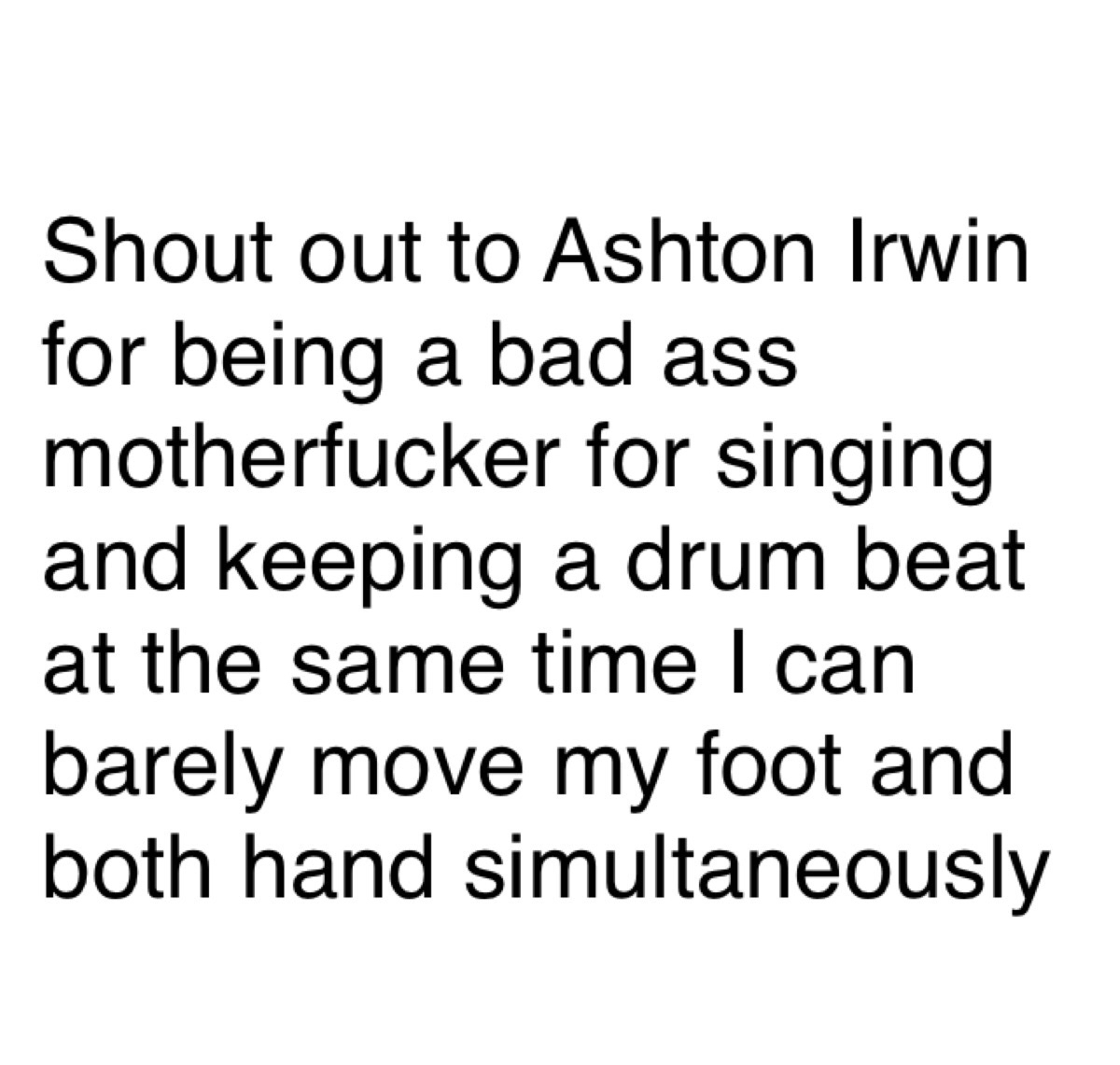 drummer, funny, and 5 seconds of summer image