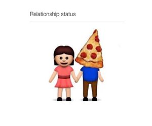 pizza, Relationship, and funny image
