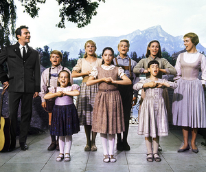the sound of music, julie andrews, and christopher plummer image