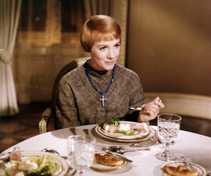 julie andrews, the sound of music, and maria von trapp image