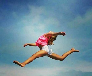 Me jumping in the heaven:D