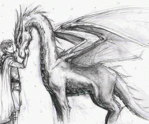 awesome, fanart, and dragon image