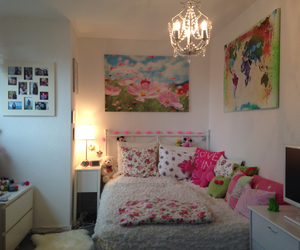 bedroom, flower, and inspiration image