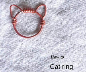 diy, cat, and ring image