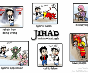 islam, islamic, and jihad image