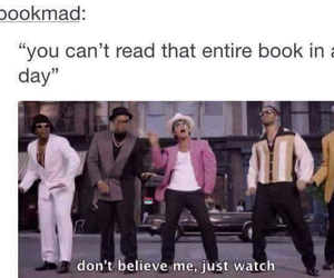 book, bruno mars, and funny image