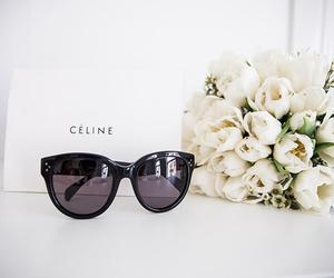 fashion, celine, and flowers image