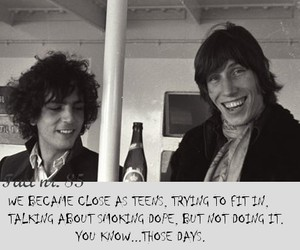 syd barrett and roger waters image