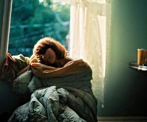 girl, sleep, and vintage image