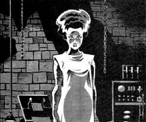 The Bride of Frankenstein image