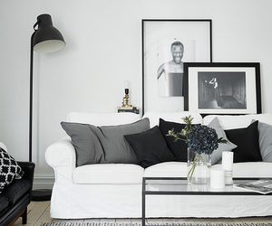 black, white, and deco image