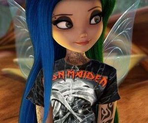 disney, punk, and fairy image